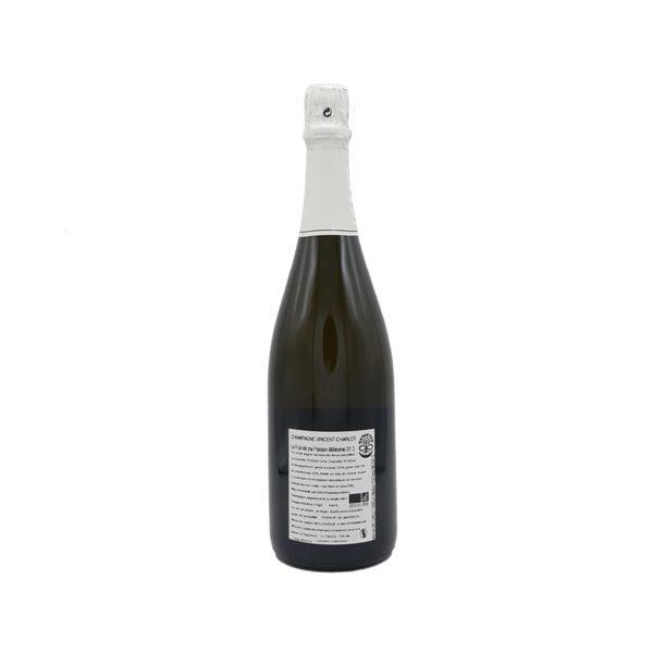 Champagne Vincent Charlot le Fruit de ma Passion Vintage 2013 retro